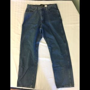 REDHEAD Mens Jeans Denim Size 35x32 Relaxed